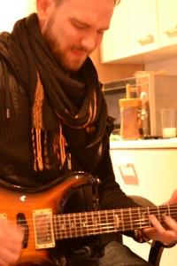 Practising The Guitar