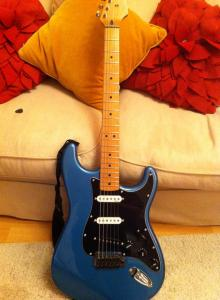 Upgraded Strat Guitar