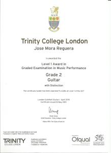 Grade 2 Certificate